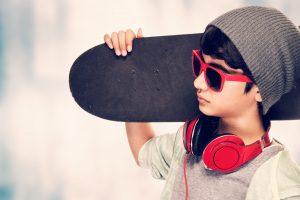 Skateboard enfant - Skate pour les enfants de 3 à 7 ans