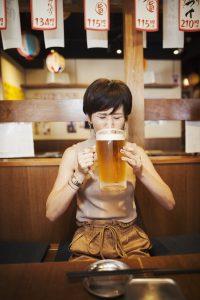 Contenance tireuse à bière