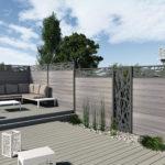 clôture classique