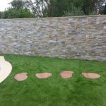 Muret jardin